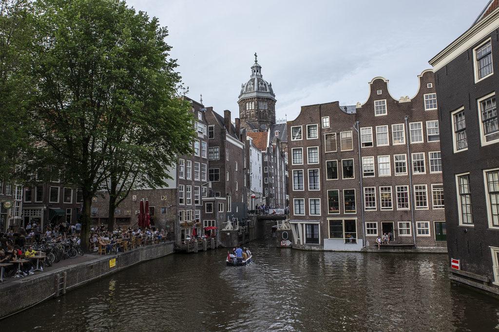 atrakcje amsterdam nad kanałem