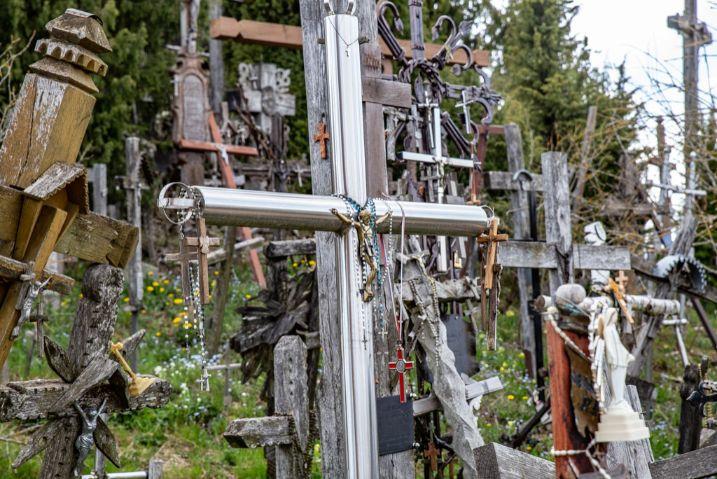 Góra krzyży w Szawlach
