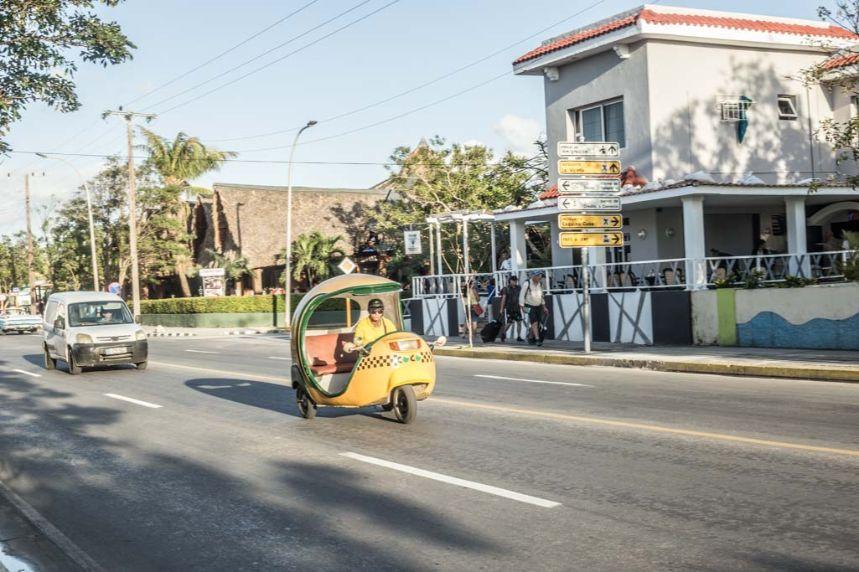 Taksówki na Kubie