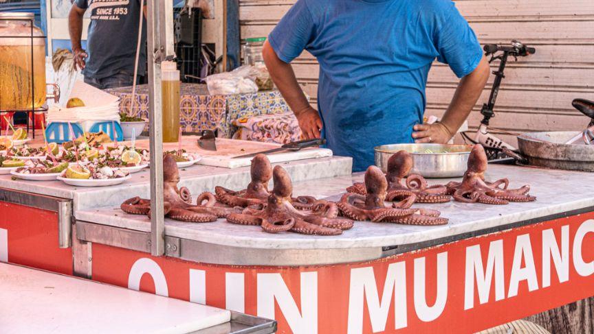 targi w Palermo/Co zjeść na Sycylii?