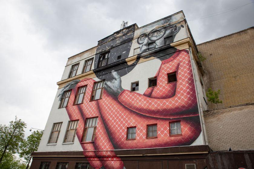 Kowno mural