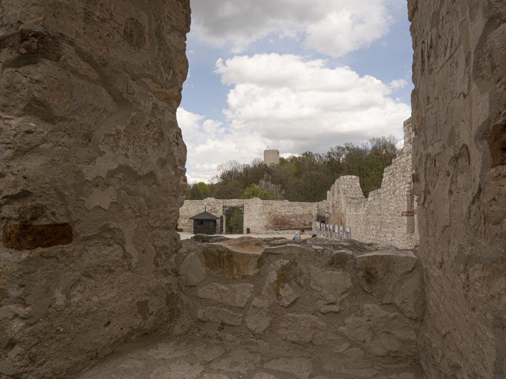 Ruiny zamku - co warto zobaczyć w Kazimierzu Dolnym